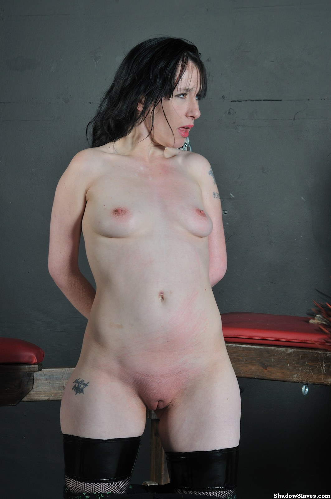 Humiliation female slave amateur