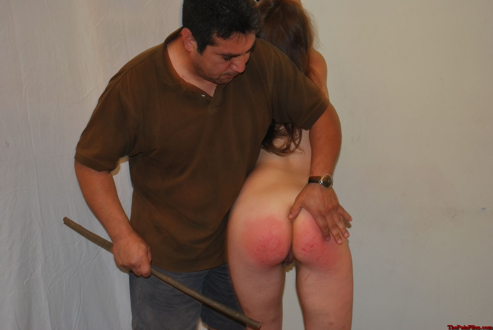 Curious bare bottom spanking corporal punishment accept. opinion